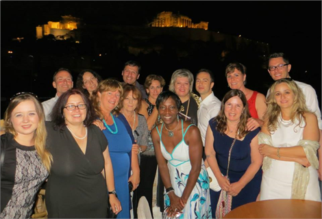 RJ4All team and volunteers in Athens!