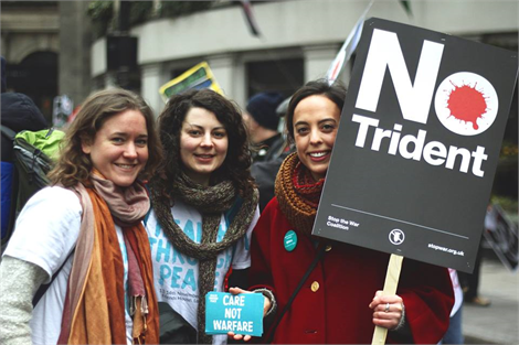 Stop Trident march