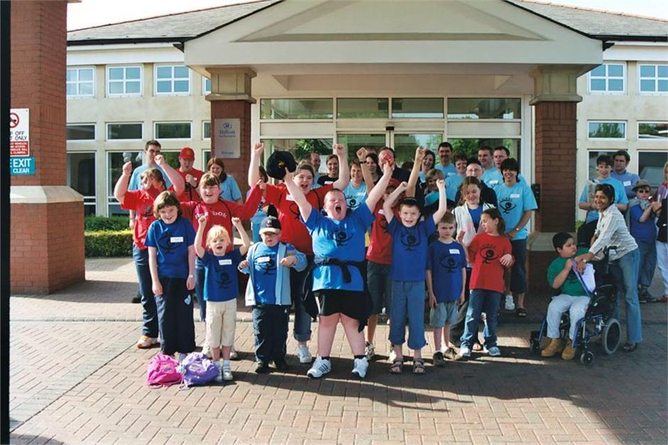 Children at BBS UK Conference
