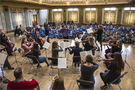 Apollo orchestra workshop