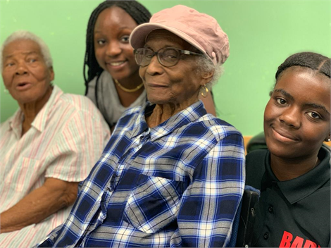 Engaging elders for Windrush archive