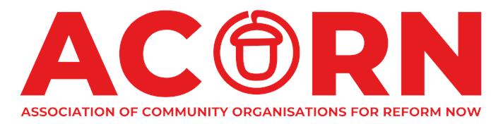 ACORN banner logo