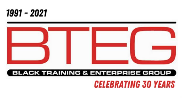 BTEG logo - celebrating 30 years