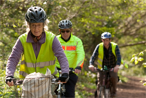 Over 55s rides