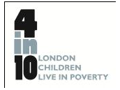 4in10: London's Child Poverty Network, hosted by Children England