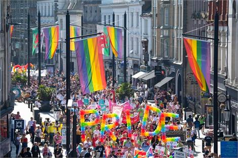 Pride Cymru parade