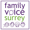 Family Voice Surrey logo