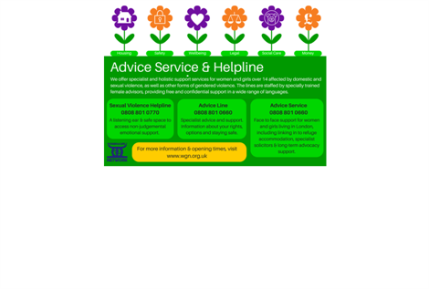 Advice & Helpline