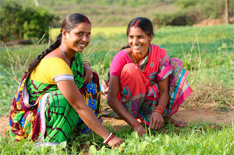 Women collaborate in India to improve their communities and access their rights.