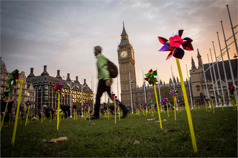 Pinwheels campaign to support onshore wind