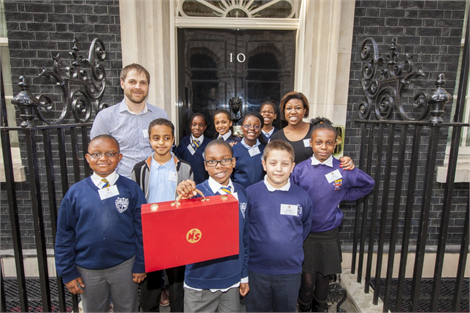 Ministry of Stories at 10 Downing St