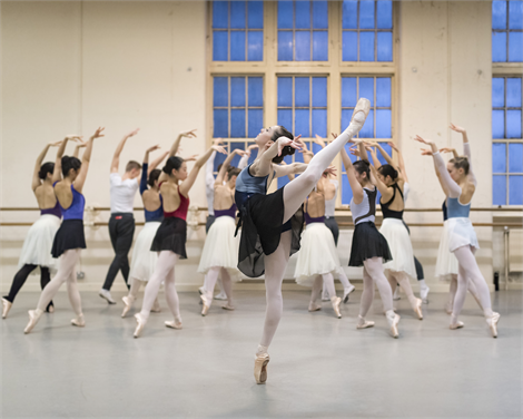 Central School of Ballet, image by Drew Forsyth