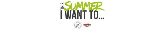 This summer logo green