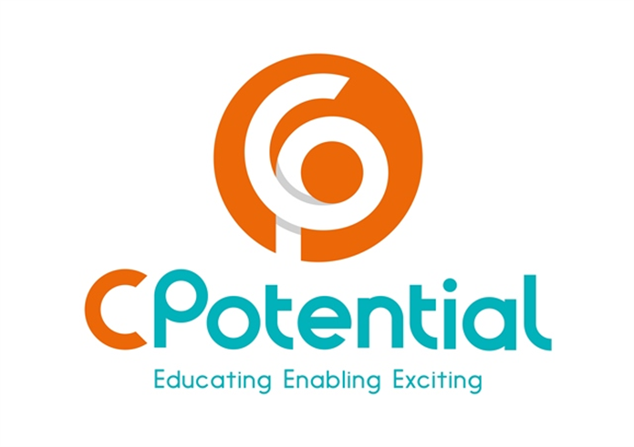 CPotential logo stacked