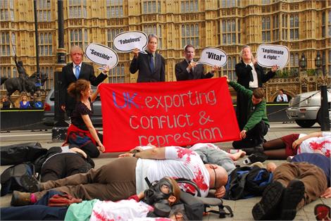 parliament demo