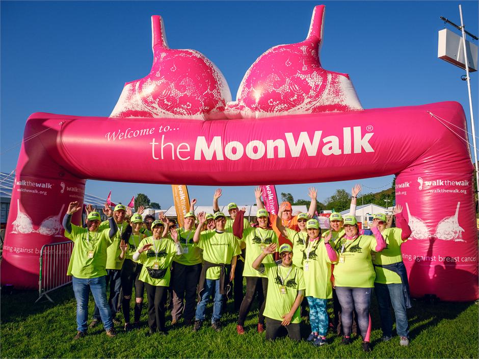MoonWalk London Volunteers