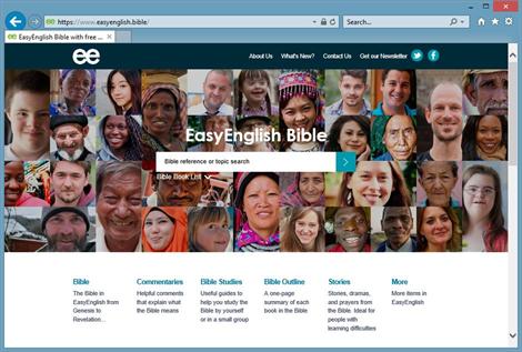 EasyEnglish website