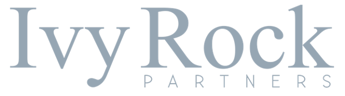 Ivy Rock grey logo