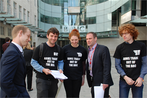 BBC petition hand-in