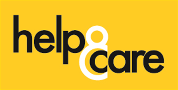 Help & Care Logo yellow