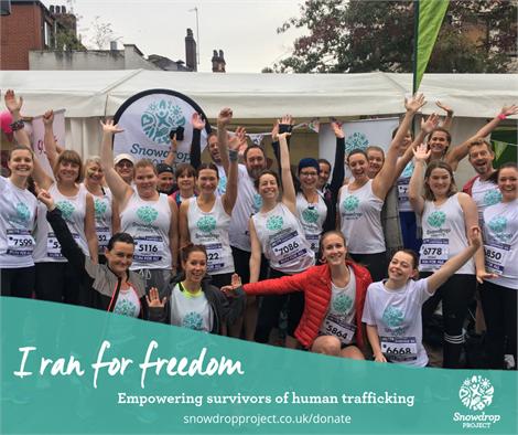 Funding Freedom 10k race
