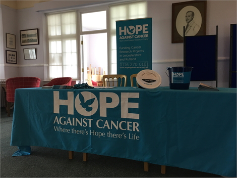 Raising funds for Hope Against Cancer