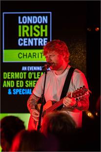 Our Patron Ed Sheeran