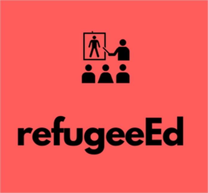 refugeeEd refugee camp education volunteer