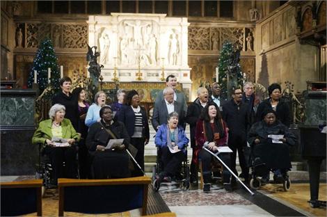 London Stroke Choir organised by DASL