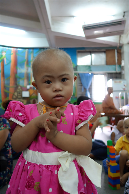 May - a World Child Cancer patient