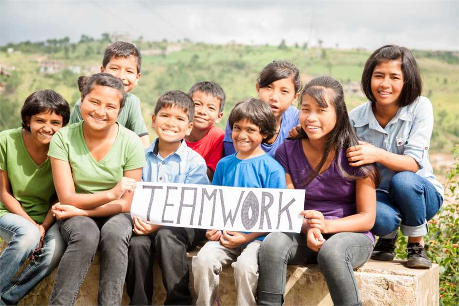 Teamwork in Nepal