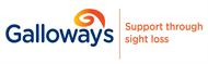 Galloway's -support through sight loss