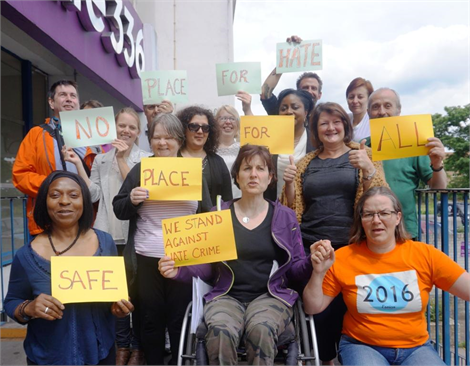 Fighting Hate Crime against Disabled People