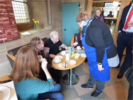 Cafe Volunteers