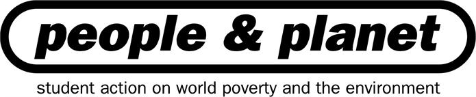 People & Planet logo