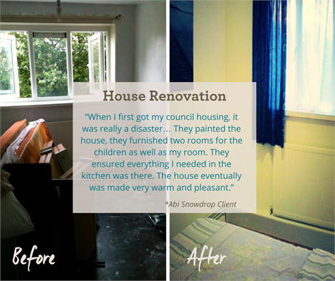 House renovation program