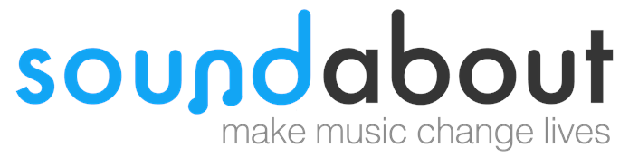 Soundabout Logo With Strapline