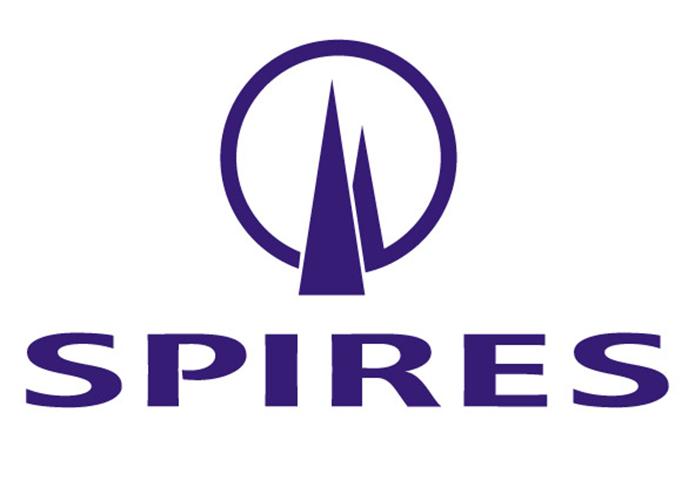 The Spires Centre logo