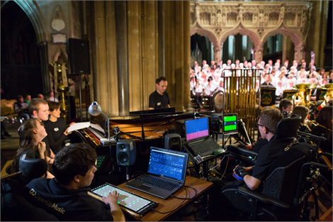South West Open Youth Orchestra perform at Bristol Cathedral