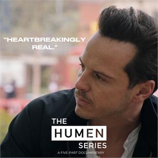The HUMEN Series Cover Andrew Scott
