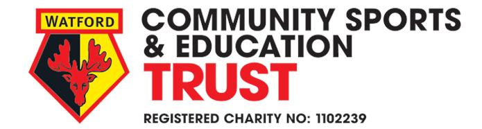 Watford FC CSE Trust Logo