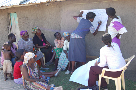 Community engagement and capacity building ensures sustainability of projects and technology